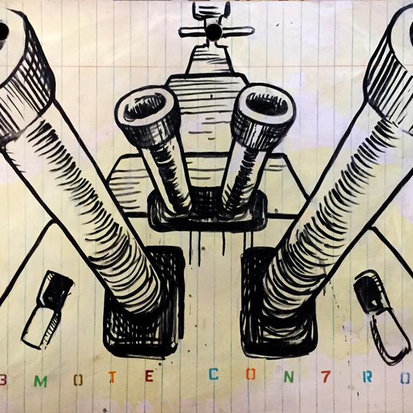 R3MOTE CON7ROL - M